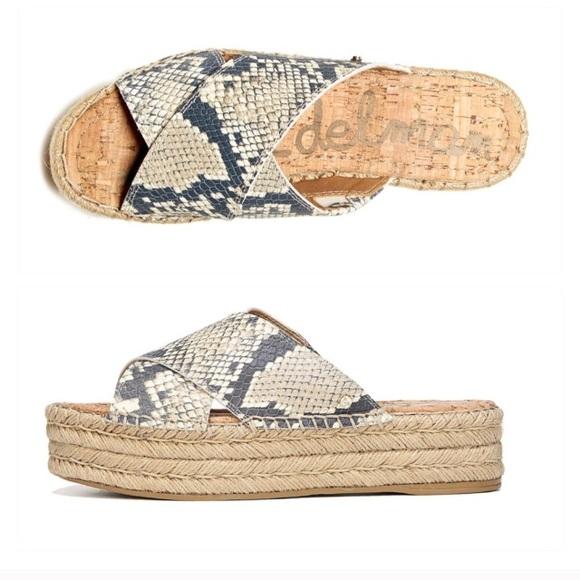 cb3fe9d8f6d9 Sam Edelman Shoes - Sam Edelman Natty Platform Espadrilles